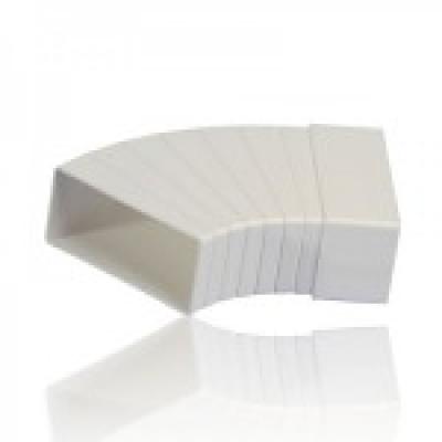 Колено плоское разноугловое горизонтальное (КРП)