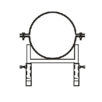 ККУ кронштейн круглый универсальный Ст.3 +