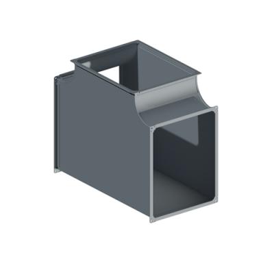 ВПТ вентиляция прямоугольная тройник
