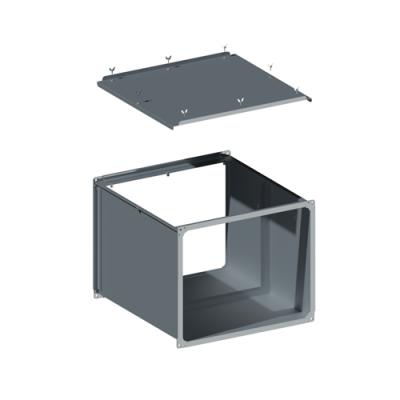 ВПКФ вентиляция прямоугольная корпус фильтра