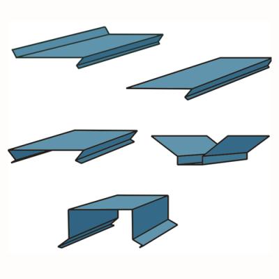 ПРОФИЛИ Zn (оцинкованная сталь)