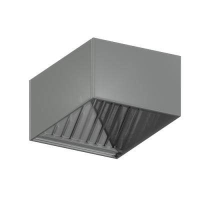 ЗВЛ 304 зонт вытяжной лабиринтный (нержавеющая сталь AISI 304)