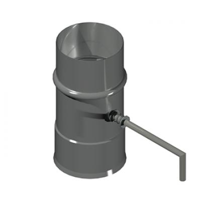 ДКДК дымоход канал дроссель клапан