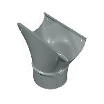 ВКВВ 130/140/0,5/Zn водосток круглый воронка врезная