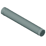 ВКТ 100/625/0,5/Zn водосток круглый труба