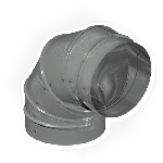 КЗИО 319/90/4/0,5/Zn кожух защитный изоляции отвод