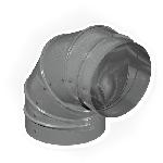 КЗИО 610/90/5/0,7/Zn кожух защитный изоляции отвод