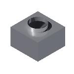 ВКАП1 310/310/100/159/0,5/Zn вентиляция круглая адаптер потолочный