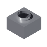 ВКАП1 310/310/200/199/0,5/Zn вентиляция круглая адаптер потолочный