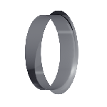 ВКВ 160/0,5/Zn вентиляция круглая врезка