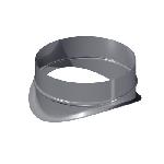ВКВК 100/355/0,5/Zn вентиляция круглая врезка круглая