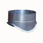 ВКВК 100/400/0,5/Zn вентиляция круглая врезка круглая