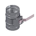 ВКДК 400/0,9/Zn вентиляция круглая дроссель клапан