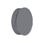 ВКЗ 140/0,5/Zn вентиляция круглая заглушка