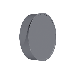 ВКЗ 250/0,5/Zn вентиляция круглая заглушка