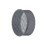 ВКЗП 125/0,5/Zn вентиляция круглая заглушка перфорированная