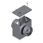 ВККФ 160/0,7/Zn вентиляция круглая корпус фильтра