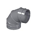 ВКО 180/90/4/0,5/Zn вентиляция круглая отвод