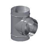 ВКТР 125/100/90/0,5/Zn вентиляция круглая тройник