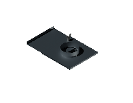 ВКШ 125/0,7/Zn вентиляция круглая шибер