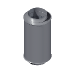 ВКШГ 355/600/0,7/Zn вентиляция круглая шумоглушитель