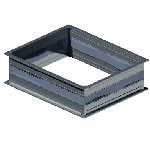 ВПВГ 400/200/0,5/ф20/Zn вентиляция прямоугольная вставка гибкая