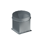 ВППВ 875/875/1250/0,9/ф30/Zn вентиляция прямоугольная переход вентилятора