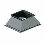 ВППП 200/150/100/100/150/0,5/ф20/Zn вентиляция прямоугольная переход прямоугольный