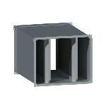ВПШГ 1000/500/600/0,9/ф20/Zn вентиляция прямоугольная шумоглушитель