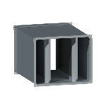 ВПШГ 500/250/600/0,7/ф20/Zn вентиляция прямоугольная шумоглушитель