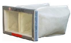 ВПЭФ 400/200/395/200 вентиляция прямоугольная элемент фильтрующий