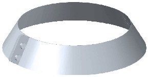 ДКФЗ 260/0,7/Zn дымоход канал фартук защитный