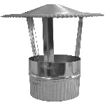 ДКФ 130/0,5/Zn дымоход канал флюгарок