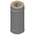 ДКУТ 350/450/500/0,7/0,7/Zn/Zn/RW дымоход канал утепленный труба