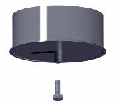 ДКЗКС 350/1,0/304 дымоход канал заглушка конденсатосборник