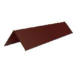 ПГН 8017 10/300/300/10/2000/0,45/Zn профиль Г наружный (конек кровельный)