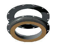 ДКУКВ 130/230/0,5/0,5/Zn/Zn/RW/ф82/3,0/Zn дымоход канал утепленный клапан взрывной