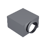 ВКАП2 160/160/130/99/0,5/Zn вентиляция круглая адаптер потолочный