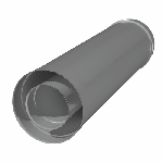 ДККТ 130/230/1000/0,5/0,5/304/Zn дымоход канал коаксиальный труба