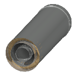 ДККУТ 150/250/350/500/0,5/0,5/0,5/304/Zn/Zn/RW дымоход канал коаксиальный утепленный труба