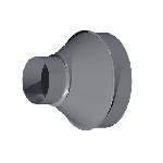 ВКП 800/560/200/0.9/Zn вентиляция круглая переход