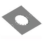 ПРО 240/1,5/Zn пластина регулируемая опорная