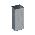 ВППУ 150/150/1250/0,5/фП20/Zn вентиляция прямоугольная прямой участок