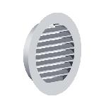 ВКРЖ 125/0,9/Zn вентиляция круглая решетка жалюзийная