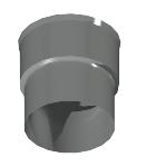 ДКАП 145/150/1,0/430 дымоход канал адаптер переход